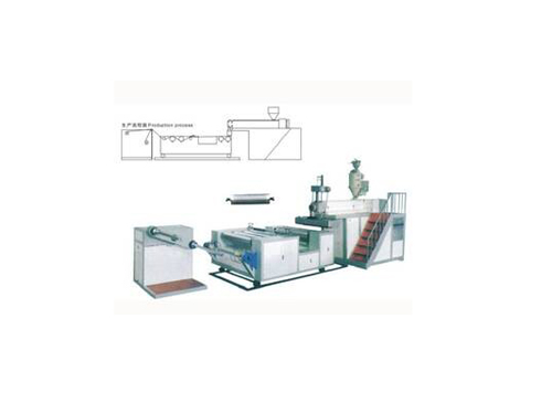 Single-layer PE Air Bubble Film Machine