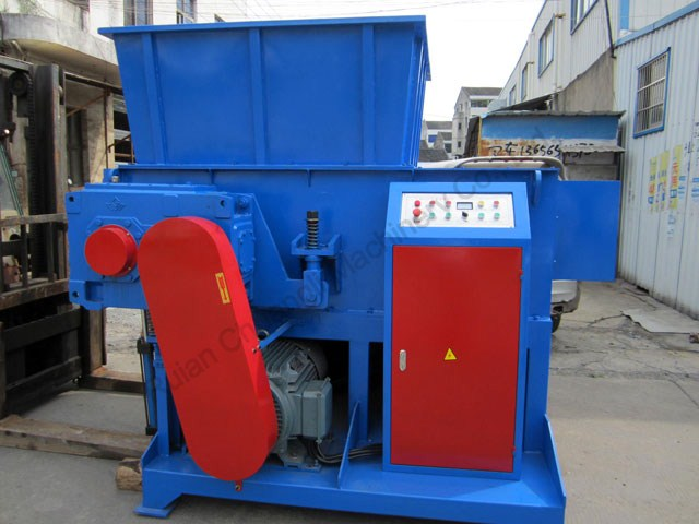 Single-shaft Plastic Shredder