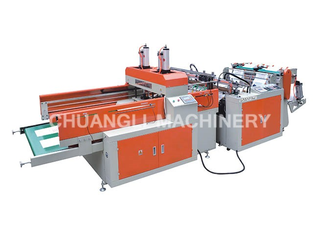 High-speed Full Auto Two-line Biodegradable Bag Making Machine