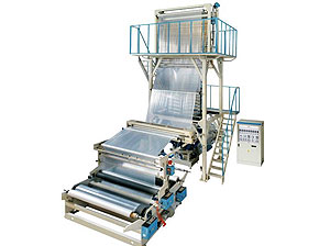 High-speed HDPE/LDPE Film Blowing Machine