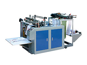 Computer Control Single-line Hot-sealing and Hot-cutting Bag Making Machine