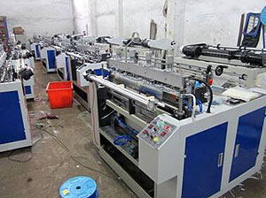 Computer Control Two-line Hot-sealing and Hot-cutting Bag Machine