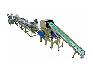 Auto Plastic PP/PE Film Crushing, Washing and Drying Line
