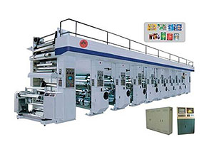 High-speed Auto  6-Color Computerized Rotogravure Printing Machine
