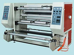 Computer Control Vertical Slitting and Rewinding Machine