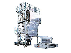 SJ-85/SJ-100/SJ-120 Big Size HDPE/LDPE Film Blowing Machine