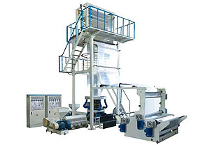 Two-layer Co-extrusion HDPE/LDPE Film Blowing Machine