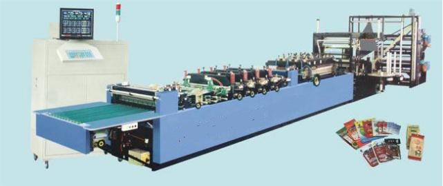 Computer Control Three-side/Four-side Sealing/Middle-sealing Pouch Bag Making Machine