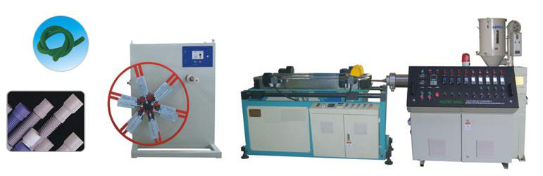 PE Corrugated Pipe Making Machine