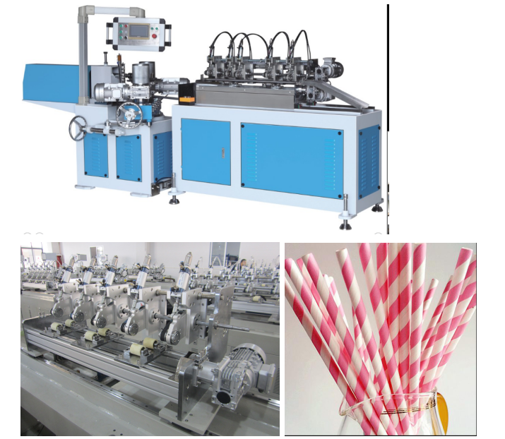 CL-PC512 High-speed Paper Drinking Straw Making Machine