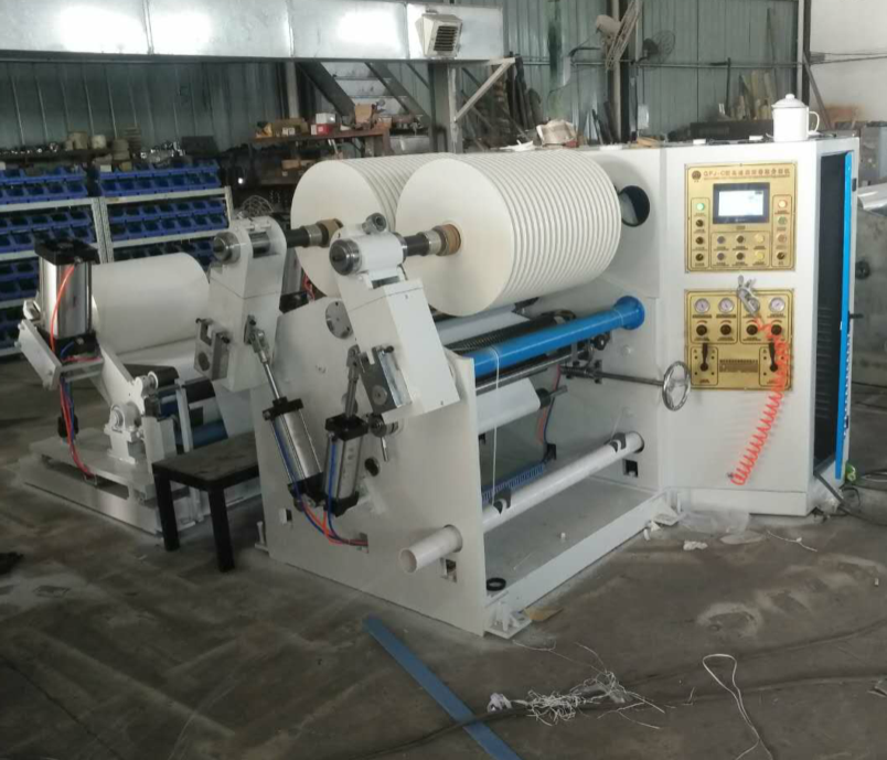 CL-W800 Straw Paper Slitting and Rewinding Machine