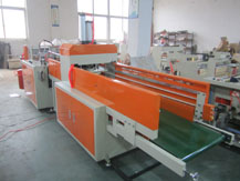 Full Auto Single-line Plastic T-shirt Bag Making Machine (Hot Cutting Type)